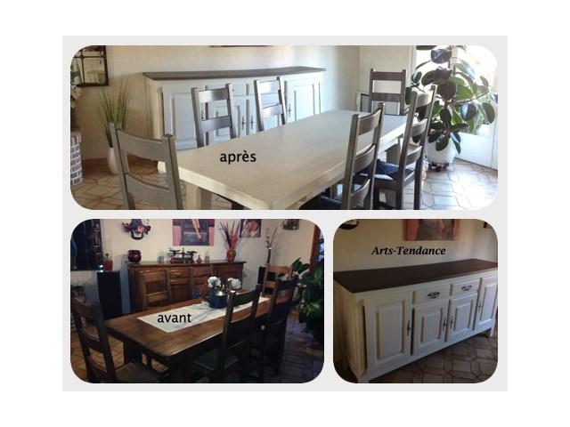 Relooking meuble salon s jour enduits muraux arts for Meuble sejour salon